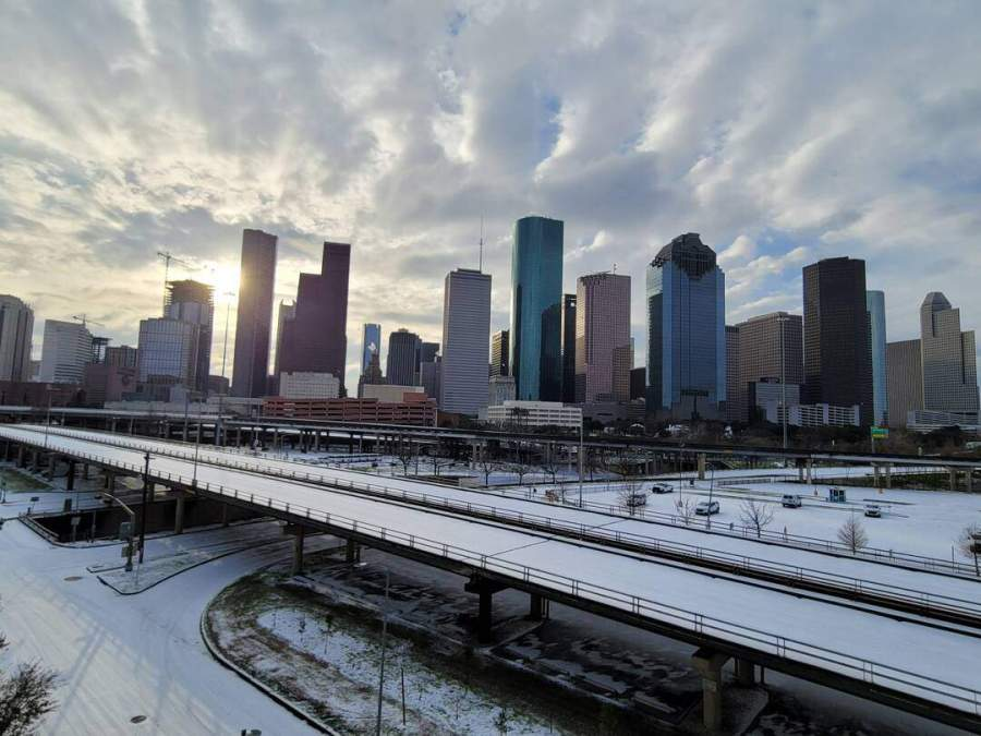 Slice of Life: TexasSnowpocalypse